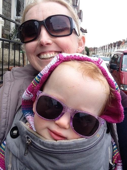 Jo Daniels and daughter Oona
