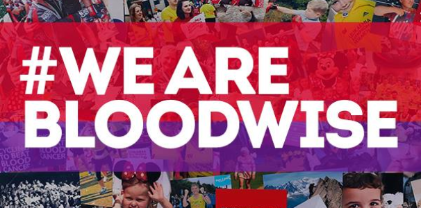 Bloodwise charity graphic #wearebloodwise
