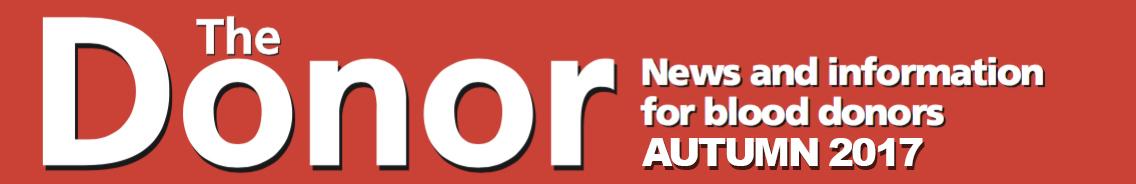 The Donor magazine autumn 2017