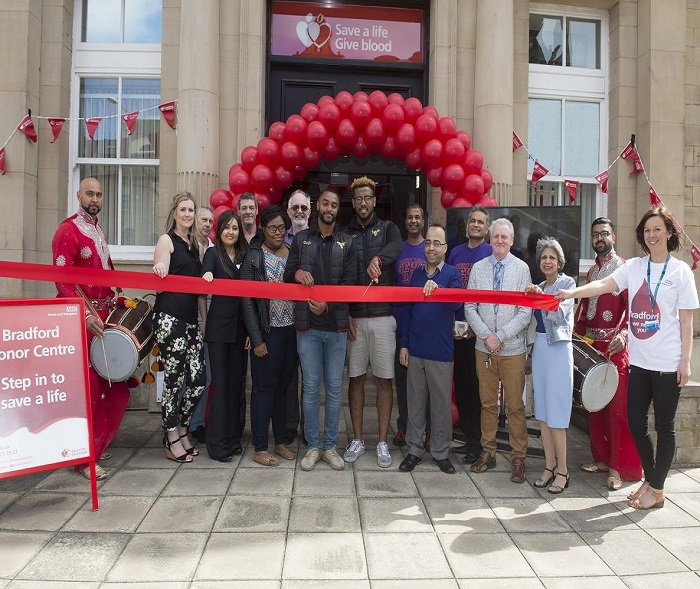 The opening of Kenburgh House Donor Centre in Bradford