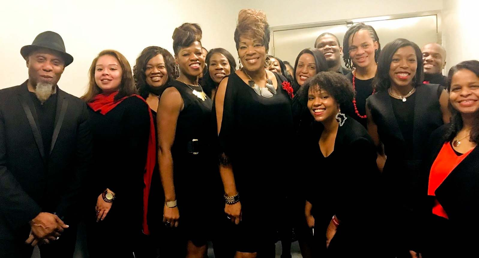 The B Positive choir