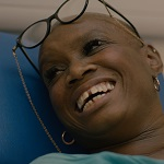 Andi Oliver gives blood for Date2Donate