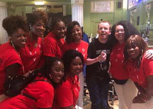 The B Positive choir with Britain's Got Talent 2018 winner: Lost Voice Guy
