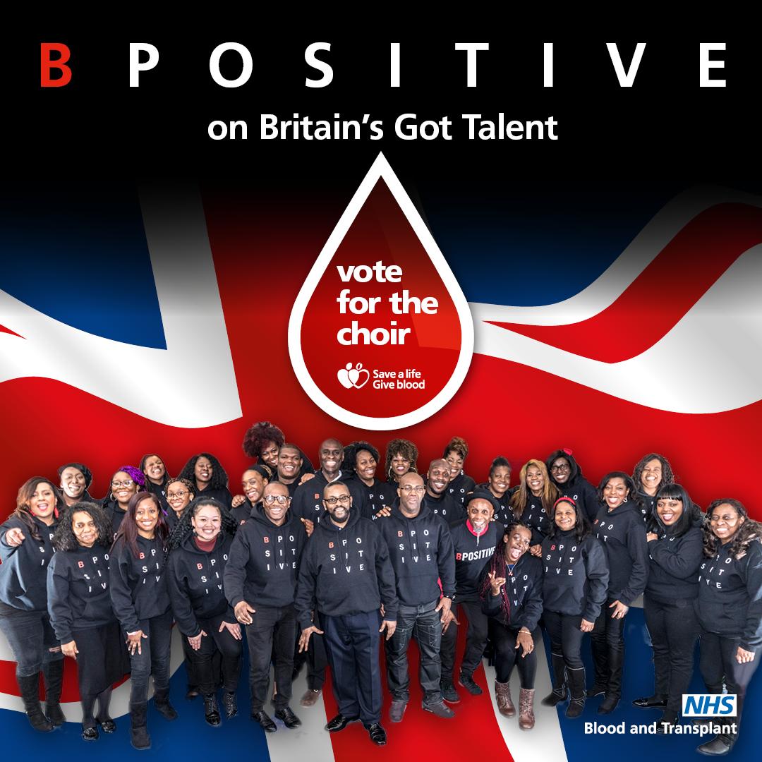 B Positive Choir - NHS Blood and Transplant
