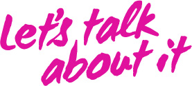 Let's Talk About It logo - Organ Donation