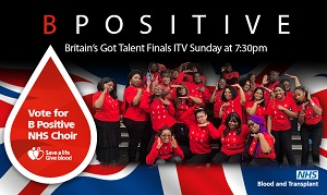 The B Positive choir on Britain's Got Talent 2018
