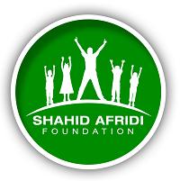 Shahid Afridi Foundation logo