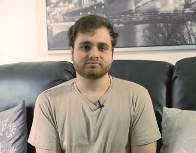 Ollie Storey who received a cornea