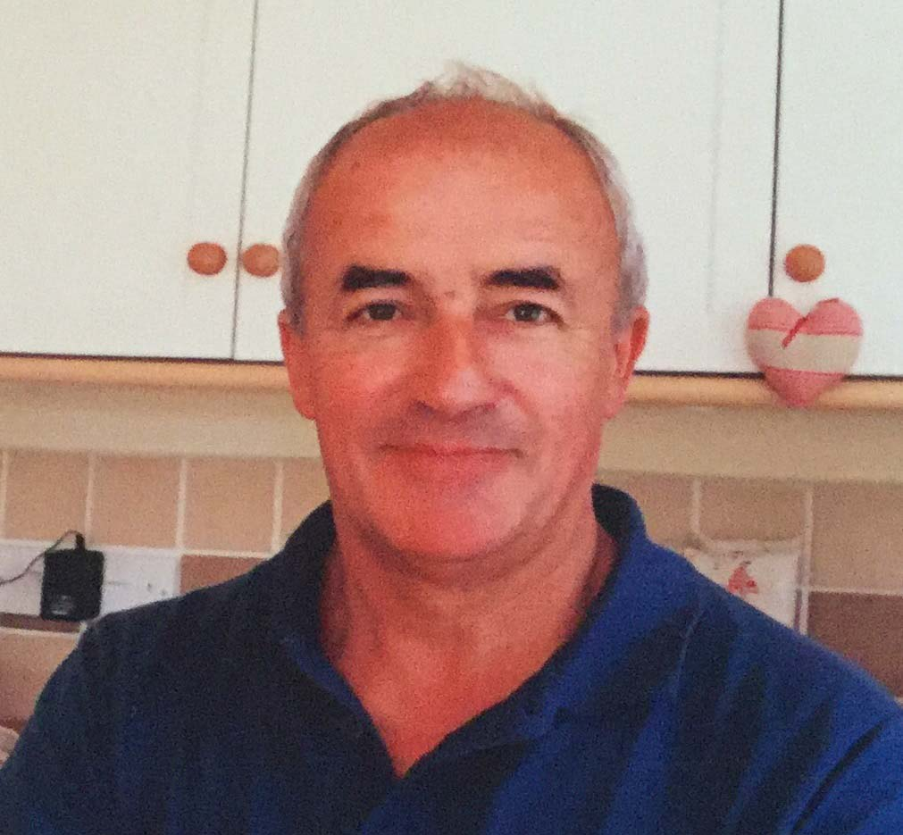 John Kemp, a blood donor