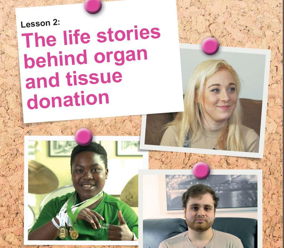 Organ donation teacher pack