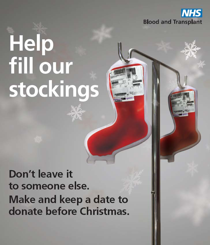 Help fill our stockings campaign image