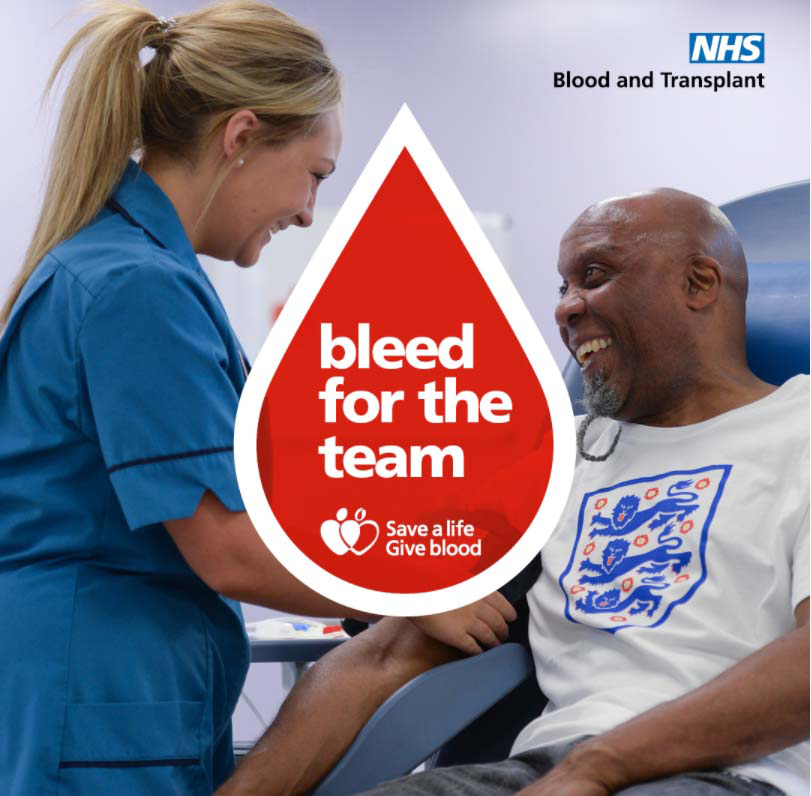 Bleed for the team campaign image