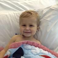 Freddie had a liver transplant in 2015