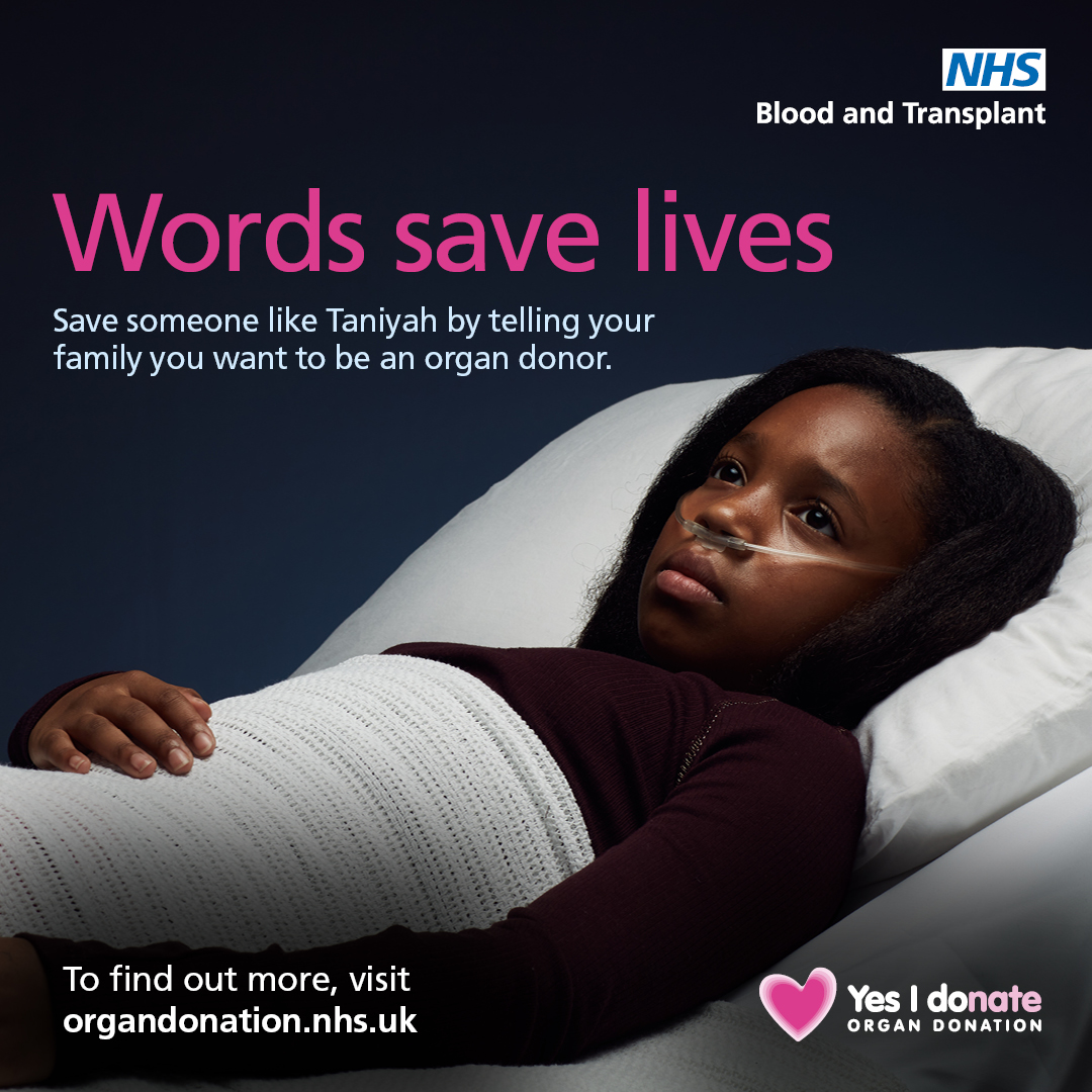 Words save lives - NHS Blood and Transplant