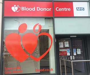 Nottingham Blood Donor Centre