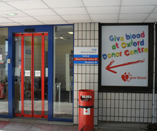 Oxford Blood Donor Centre
