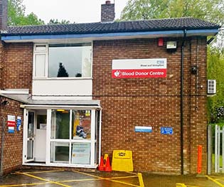 Stoke Blood Donor Centre