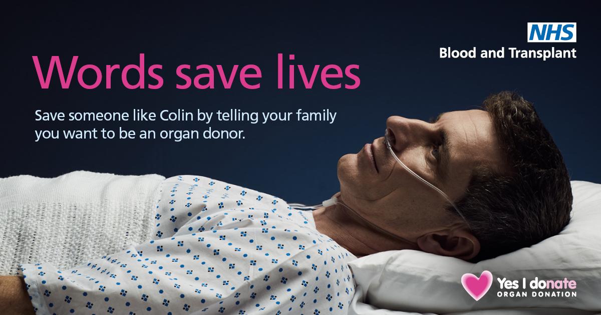 Words save lives Facebook image