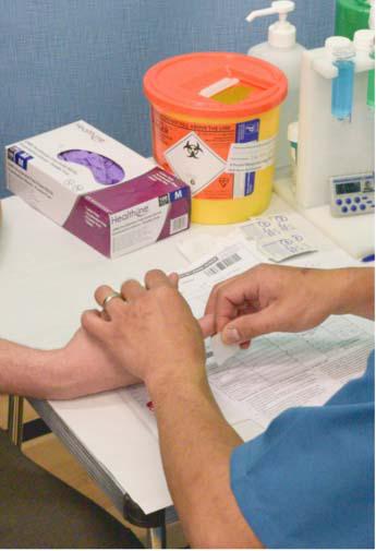 New haemoglobin test - NHS Blood Donation