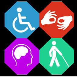 Disability and health promotion advocate scheme logo
