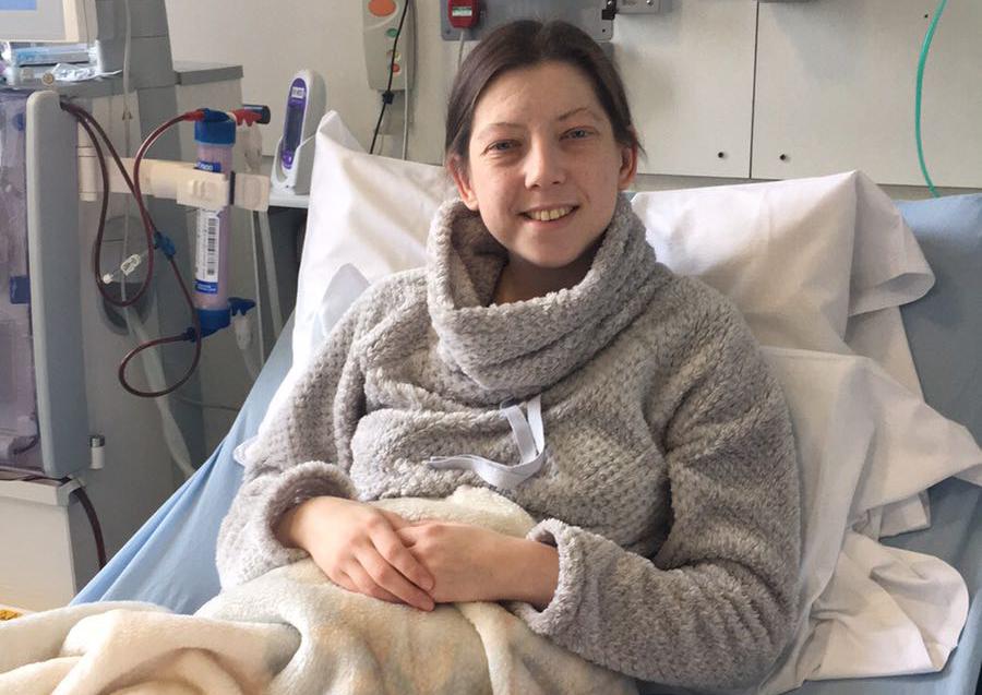 Jade Carr dialysis 2017