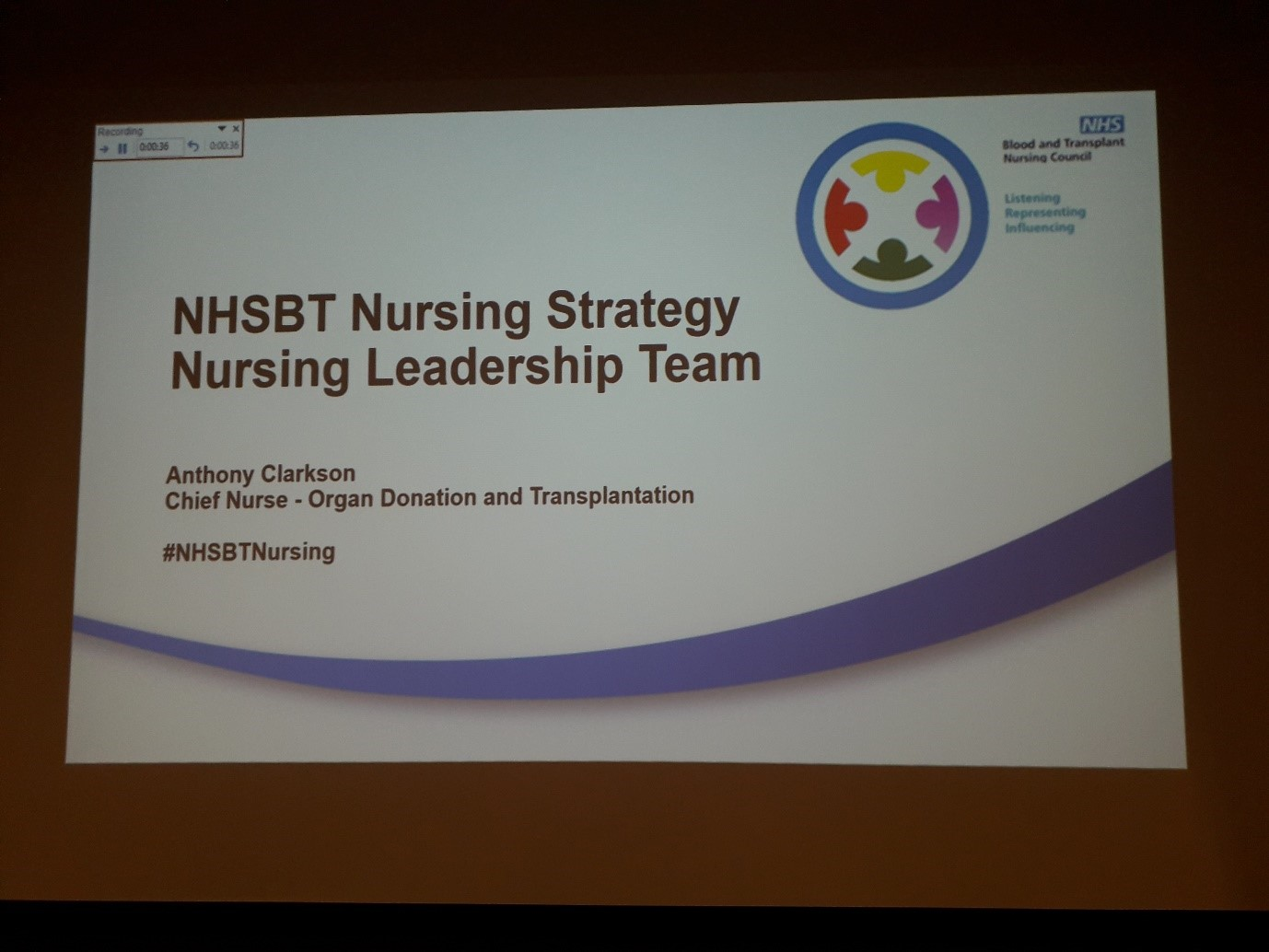 Nursing strategy PowerPoint slide