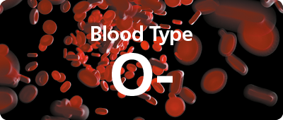 O negative blood type - NHS Blood Donation