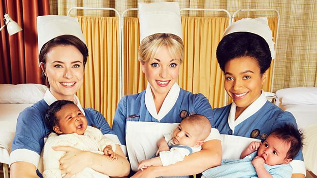 The cast from Call the Midwife