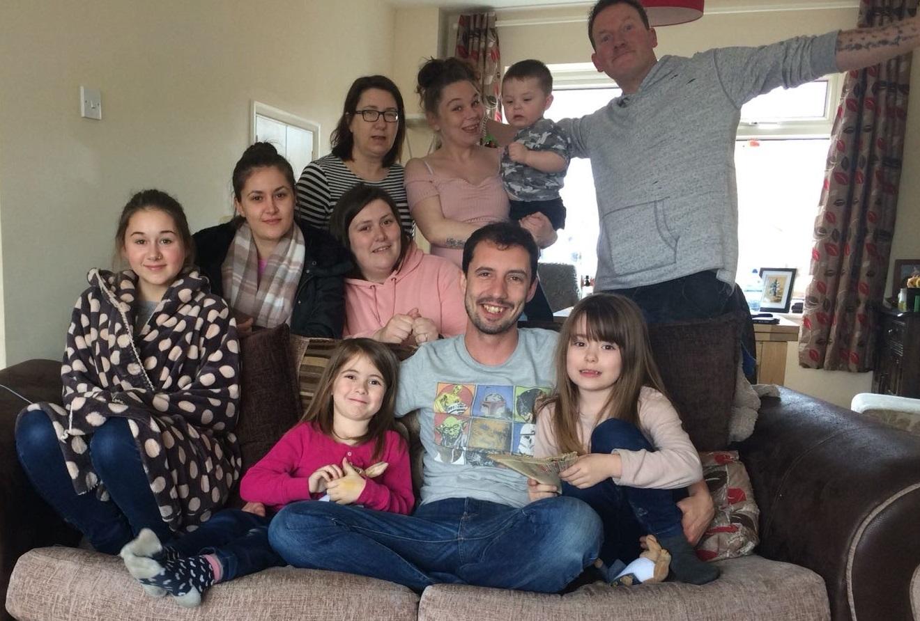 Justine's family