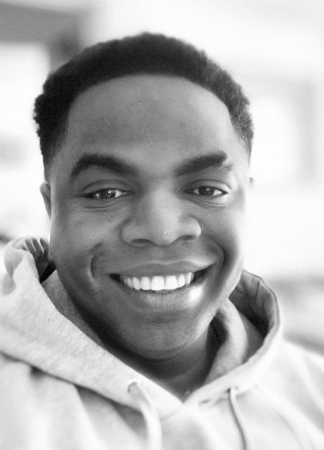 Heart transplant recipient Kevin Ferdinand smiling