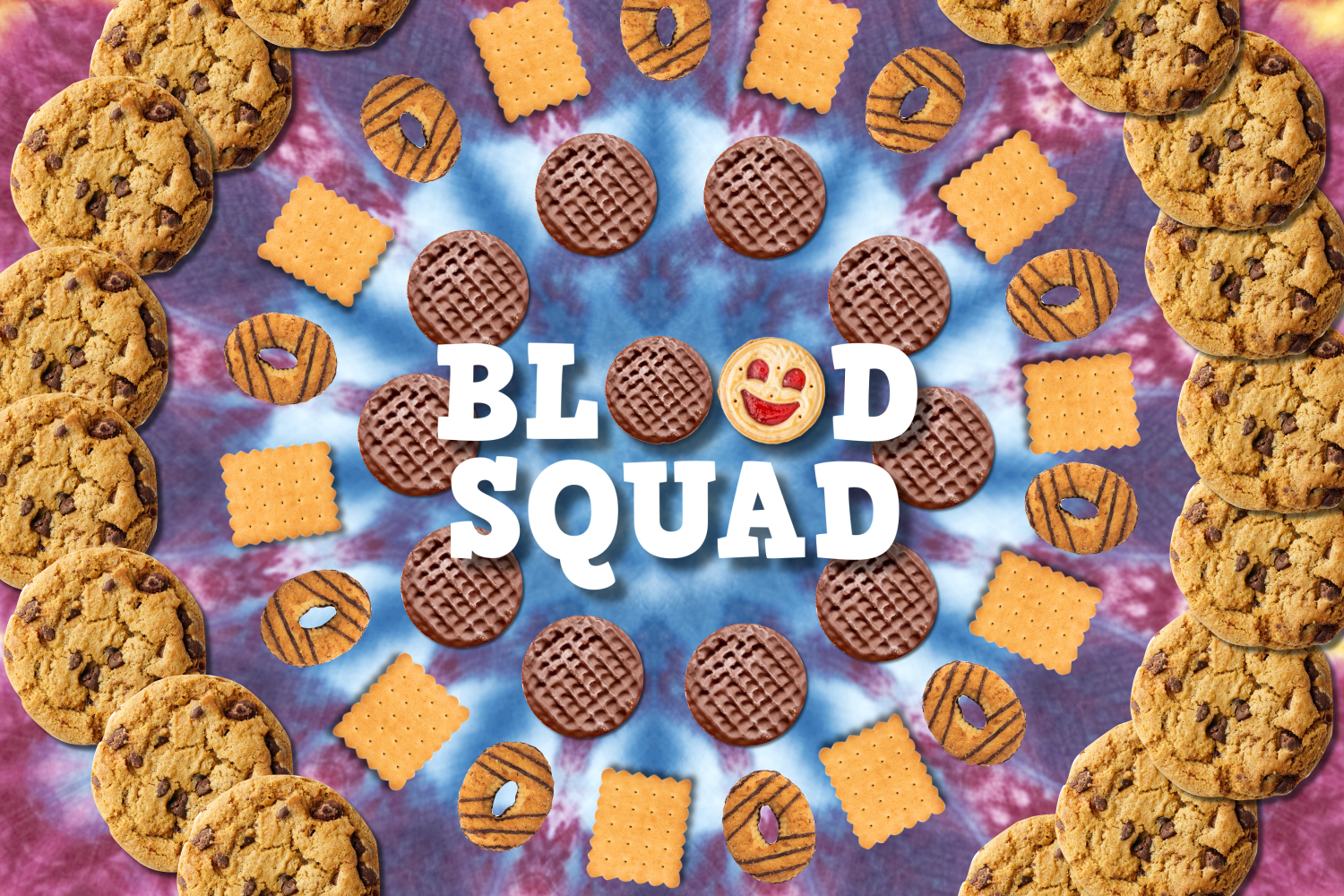 ITV2 Blood Squad 'biscuit' campaign image