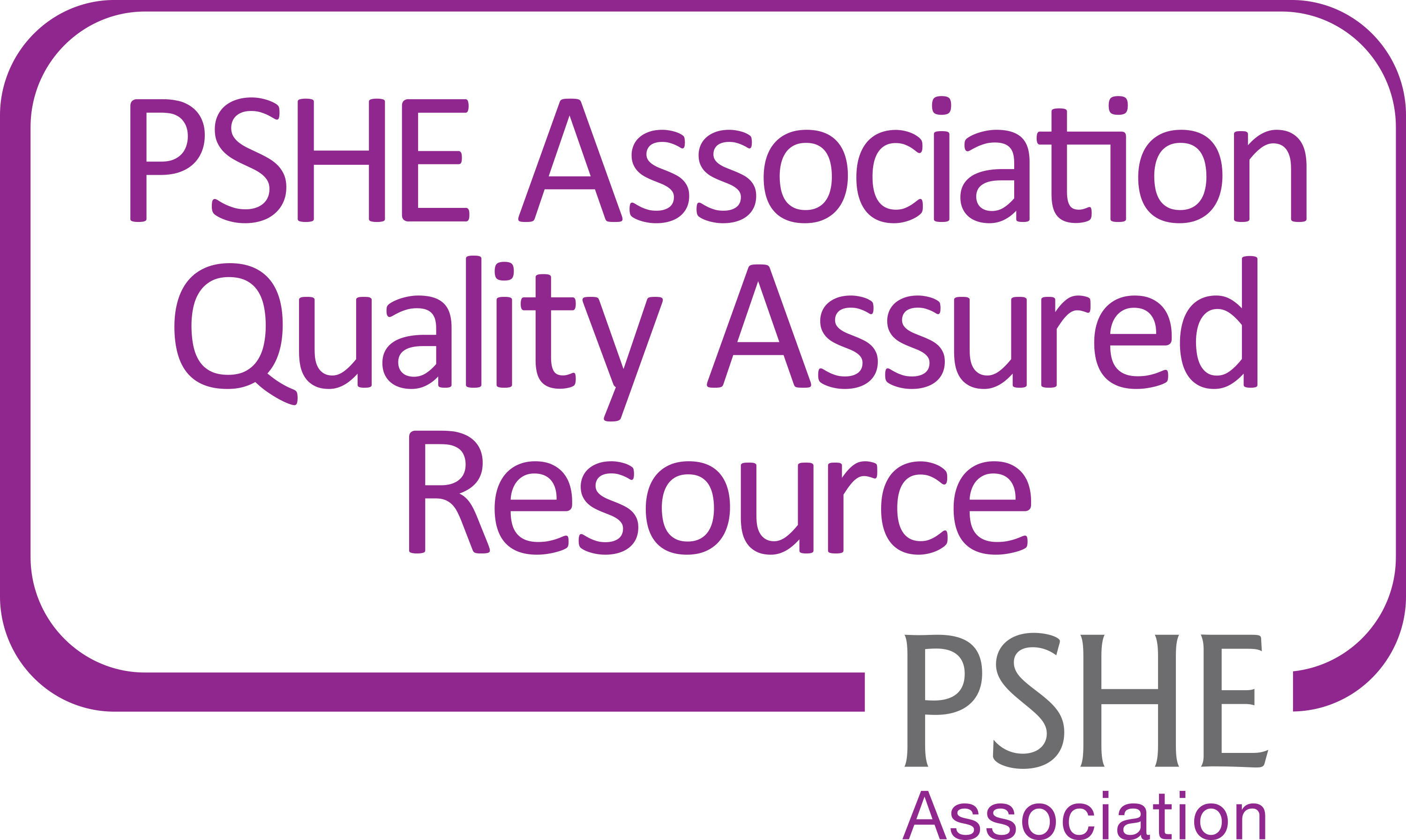 PSHE Association Quality Assured Resource logo