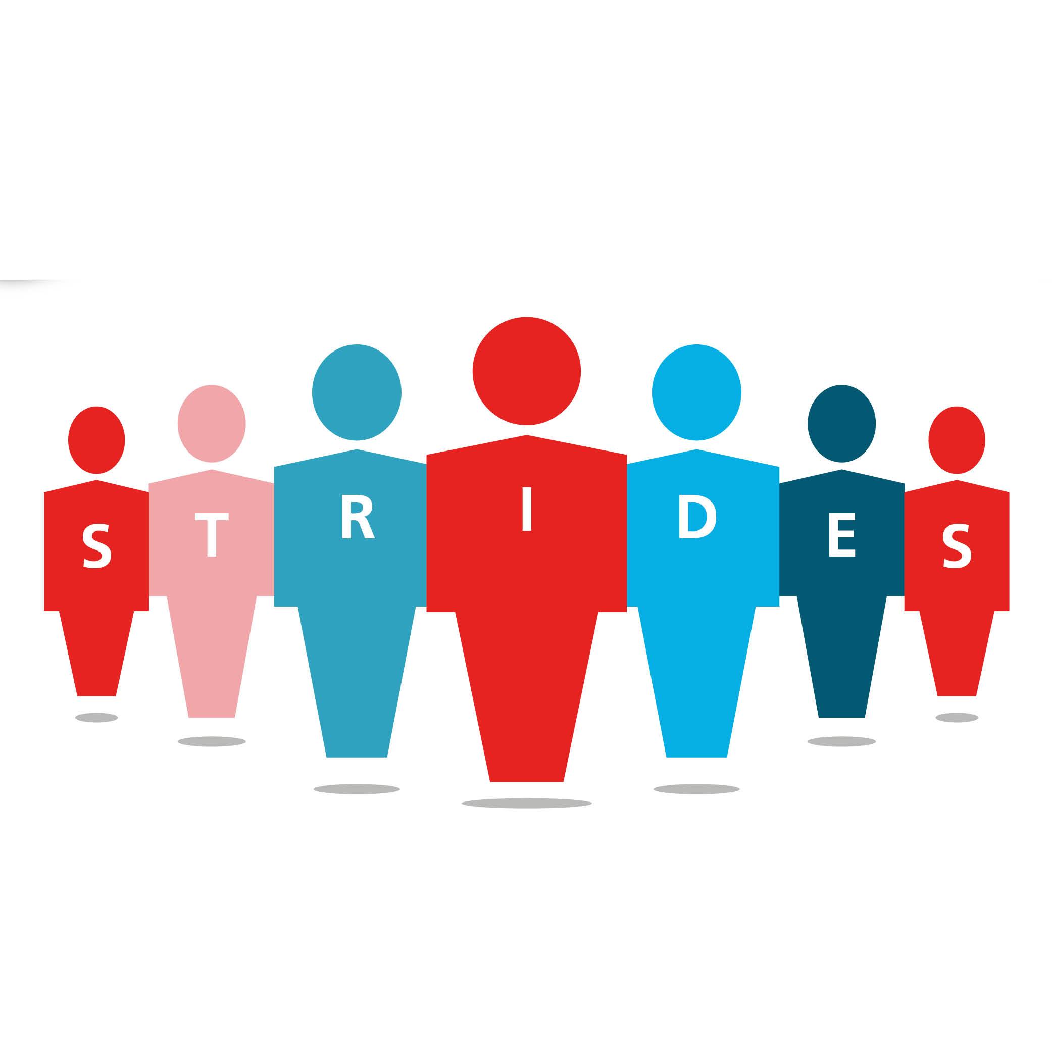 STRIDES study logo