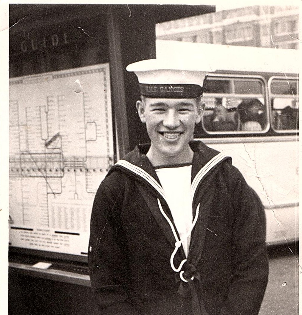 Bernard Dale in the Royal Navy