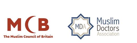 Muslim Council of Britain and Muslim Doctors Association logos