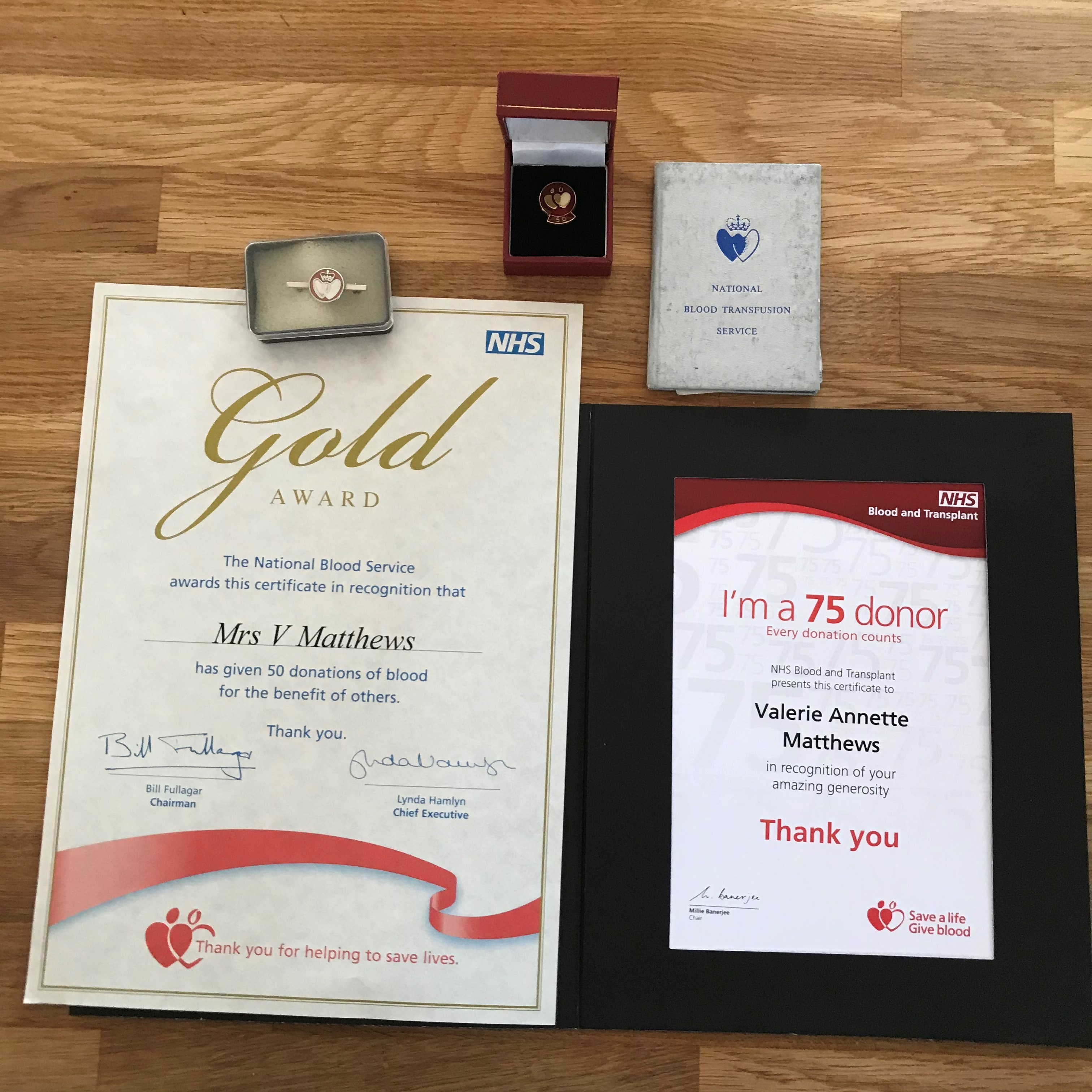 Val's certificates