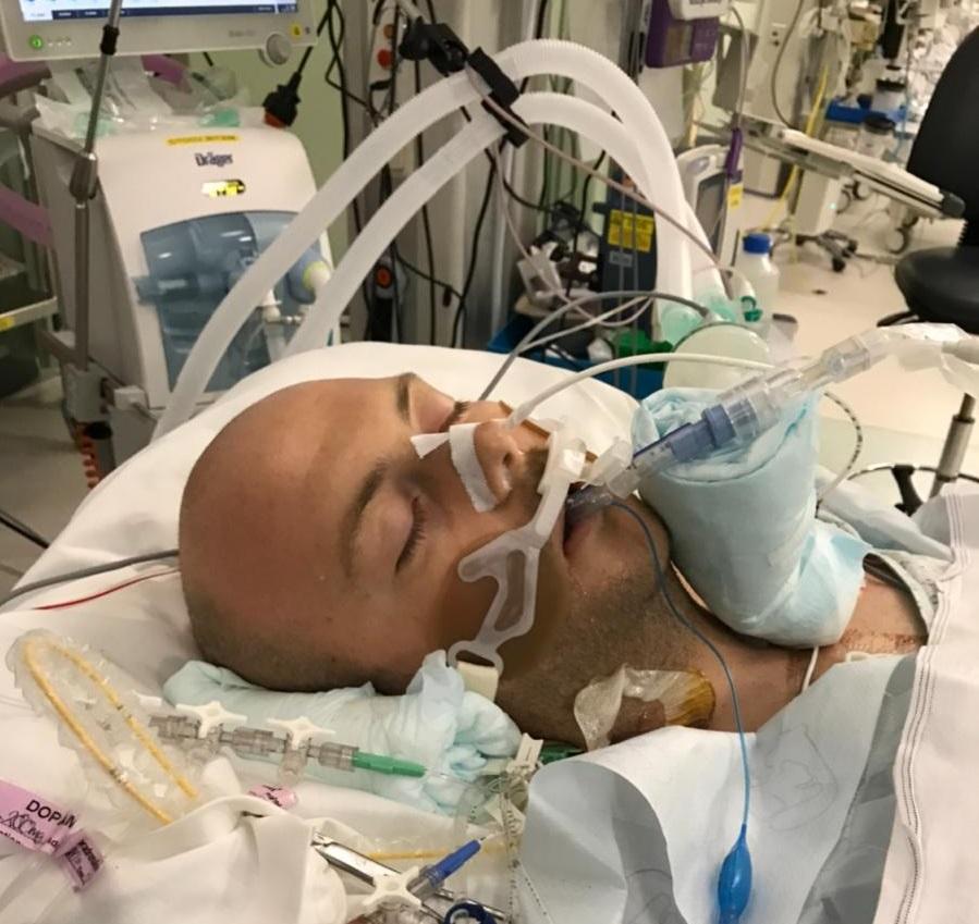 Carl post transplant