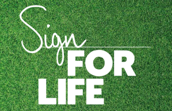 Sign for life logo