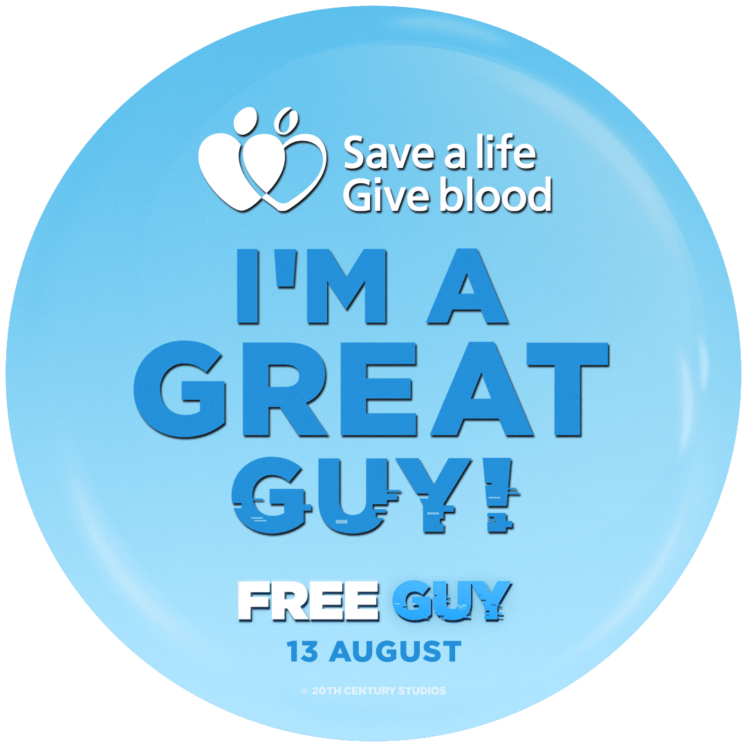 Downloadable I'm a Great Guy badge