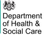 Department of Health & Social Care logo