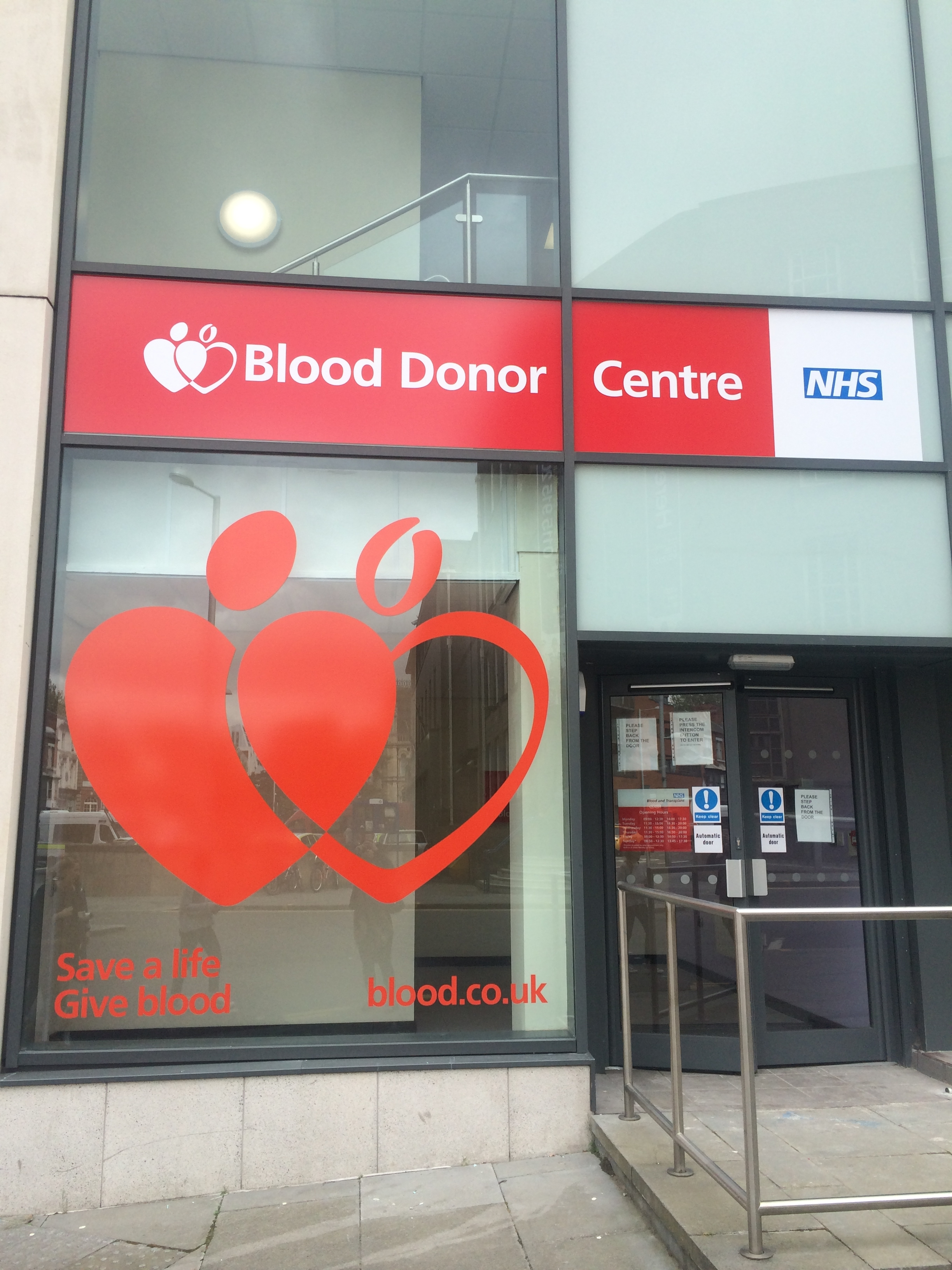 Nottingham Donor Centre
