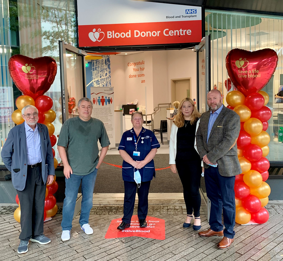 Opening of Liverpool Donor Centre