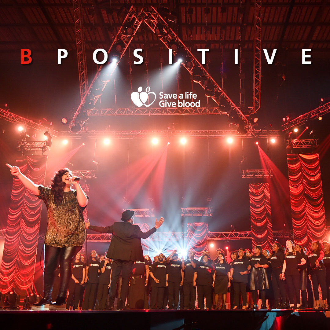 B Positive Choir Instagram image