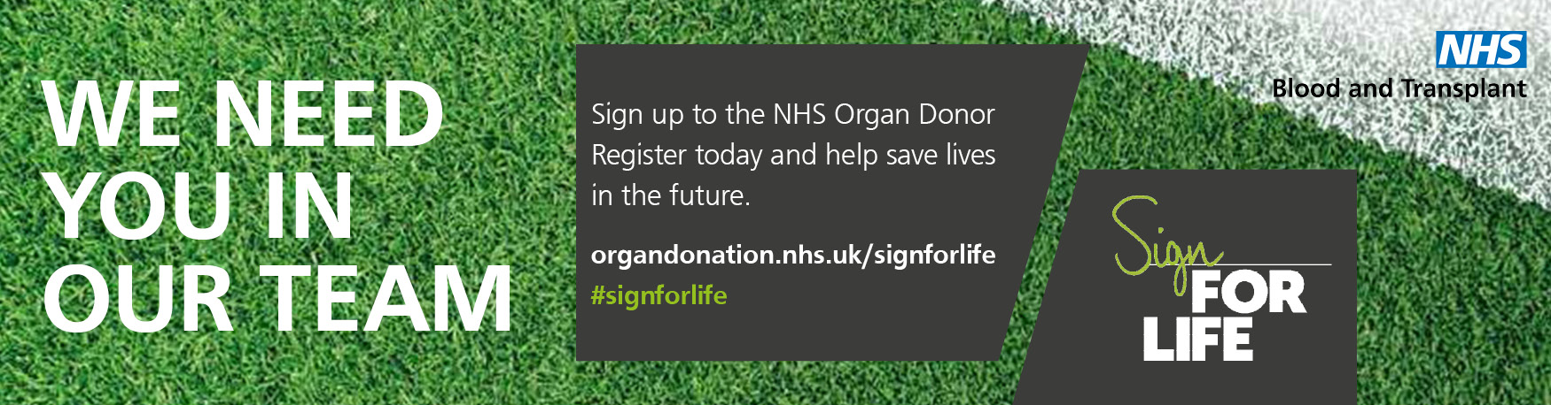 Sign For Life email signature