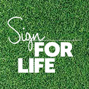 Sign for life Facebook profile image