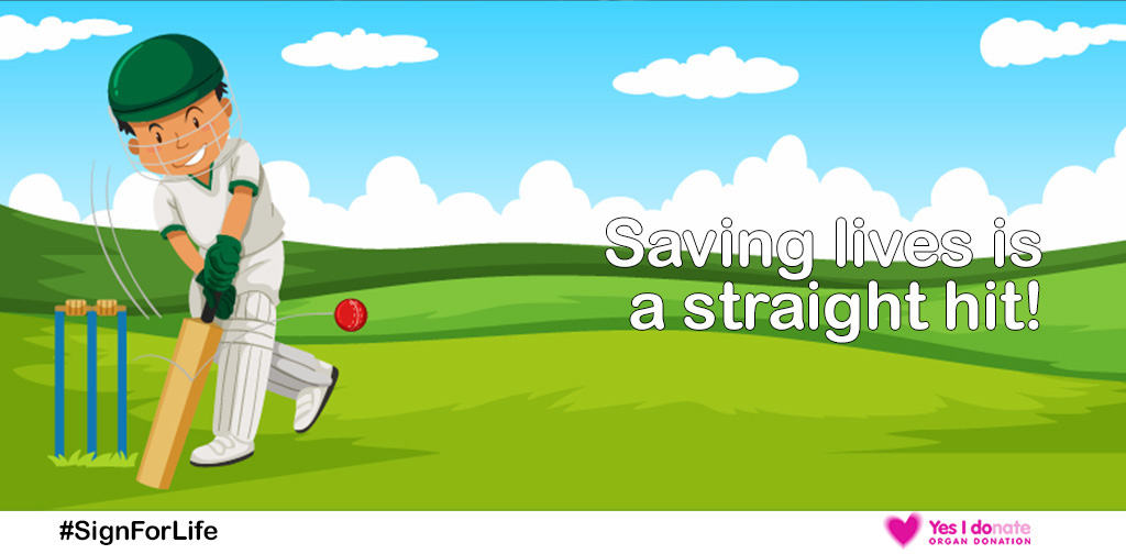 Saving lives is a straight hit Twitter image