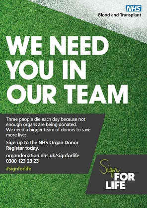 We need you in our team poster