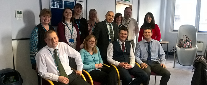 The NHSBT Health and Safety team