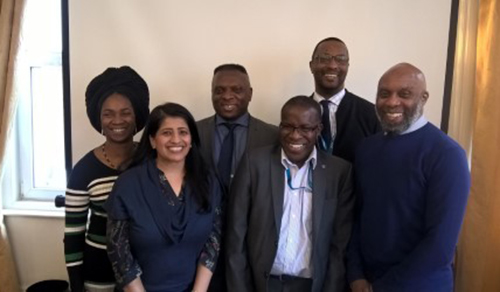 Members of the NHSBT BAME network