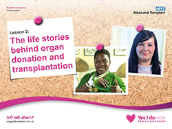 Today's teens have been highlighted as 'change makers' who can spark the family conversations needed to raise the number of organ donors in the UK.